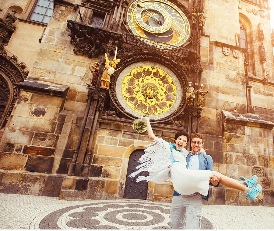 Israeli wedding in Prague